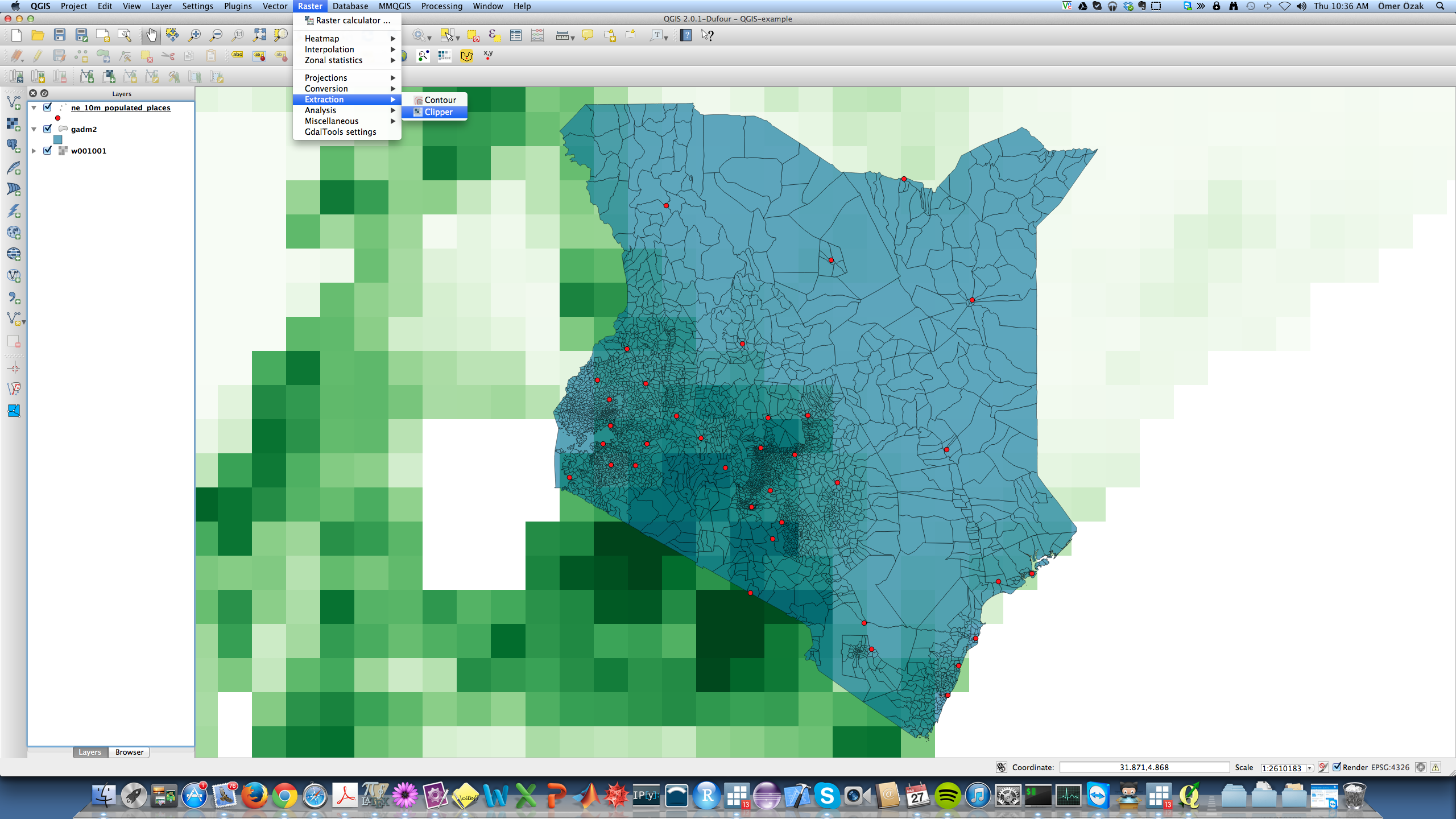 GIS with QGIS - Economic Growth and Comparative Development