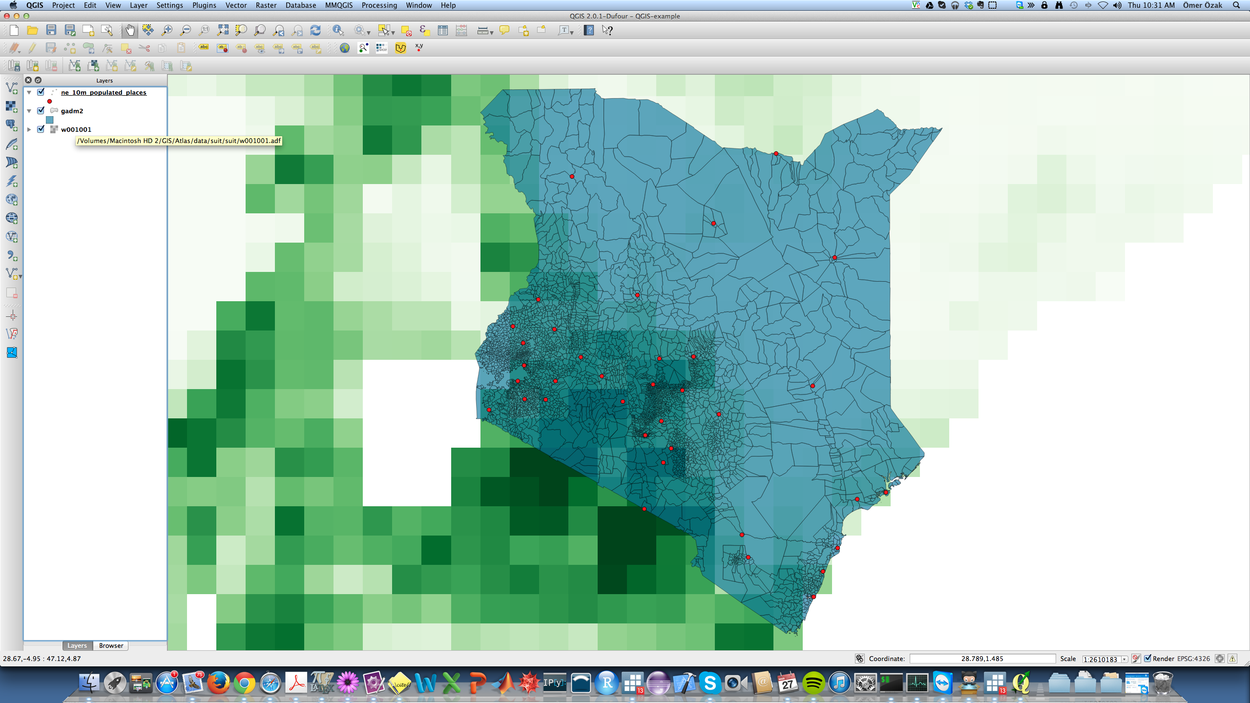 Gis with qgis economic growth and comparative development qgis raster ken gumiabroncs Images